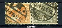 DR 1916 ZD Nr S13 Sauber Gestempelt (96997) - Zusammendrucke