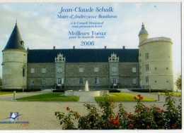 42 ANDREZIEUX BOUTHEON , Carte De Voeux Du Maire 2006, Carte Plastique - Andrézieux-Bouthéon