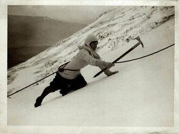 ESCALADE CLIMBING  21*16 CM Fonds Victor FORBIN 1864-1947 - Deportes