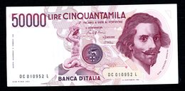 Italie  50.000 Lire - [ 2] 1946-… : Repubblica