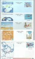STOCK 10 AEROGRAMME  ESPAÑA - Briefmarken
