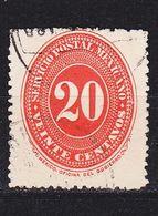 MEXICO [1887] MiNr 0161 Ex ( O/used ) - Mexiko