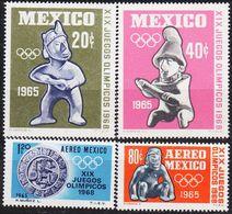 MEXICO [1965] MiNr 1192,,95 ( **/mnh ) Olympiade - Mexiko