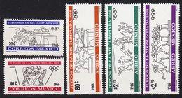 MEXICO [1966] MiNr 1214-17 ( **/mnh ) Olympiade - Mexiko