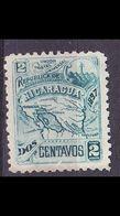 NICARAGUA [1897] MiNr 0090 Y ( */mh ) - Mexiko