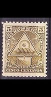 NICARAGUA [1898] MiNr 0101 Y ( */mh ) - Mexiko