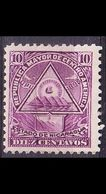 NICARAGUA [1898] MiNr 0102 X ( */mh ) - Mexiko