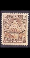 NICARAGUA [1898] MiNr 0107 Y ( */mh ) - Mexiko