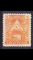 NICARAGUA [1898] MiNr 0108 X ( */mh ) - Mexiko