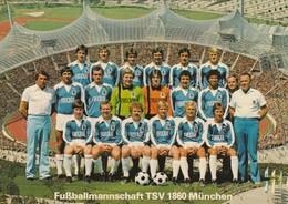 Rare Cpsm Le TSV 1860 München 197? - Fussball