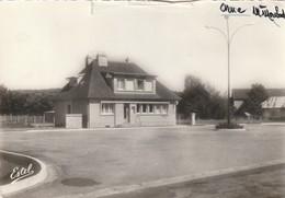Rare Cpsm Boissy-Maugis Le Bureau De Poste - Autres Communes