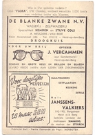 Pub Reclame - Ciné Cinema Bioscoop - Cinema Flora - Heist Op Den Berg - Foto Photo Star Vedette Patricia Neal - Cinema Advertisement