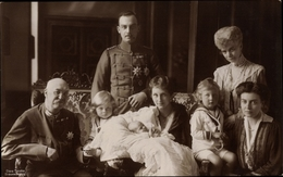 Cp Duc Ernst August Von Braunschweig, Princesse Victoria Luise Von Preußen, Familie - Case Reali