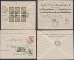 IRAN 1930 LOT 2 LETTRES  (8G34791) DC-3834 - Iran