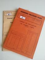 Lot N°2 - Pays De L'est  Dans Deux Carnets De Crculation - Timbres