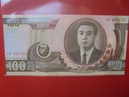 COREE(NORD) 100 WON 1992 PEU CIRCULER/NEUF - Korea (Nord-)