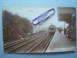 ECOSSE : SLAMANNAN Station 1917 - Cartes Postales