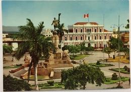(769) Peru - Trujillo - Plaza De Armas And Town Hall - Nationale Vlag - Pérou