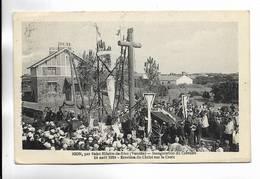 85 - SION Par Saint-Hilaire-de-Riez ( Vendée ) -Inauguration Du Calvaire, 24 Août 1924 - Erection Du Christ Sur La Croix - France