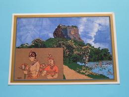Best WISHES Card ( KAPILA Batikrafts > Award Winner Geneva 1999 ) Anno ? ( See/zie/voir Photo) ! - Sri Lanka (Ceylon)