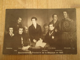 Souvenir Du Centenaire Gouvernement Provisoire 1830 1930 - Personnages Historiques