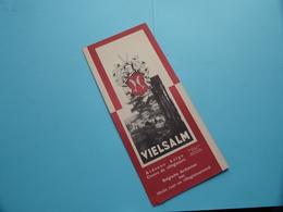 VIELSALM > Folder ( Edit.: Vielsalm Secr. Paulin Evrard Tél Hotel De Ville 227 / Print Desoer ) Anno ? ( Voir Photo ) ! - Dépliants Touristiques
