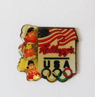 Pin's JO USA Kellogg's - BL1 - Jeux Olympiques