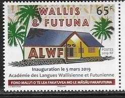 WALLIS ET FUTUNA, 2019, MNH, LANGUAGES,INAUGURATION OF ACADEMY FOR WALLIS ET FUTUNA LANGUAGES, 1v - Languages