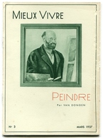 VAN DONGEN Peindre 1937 - Livres, BD, Revues