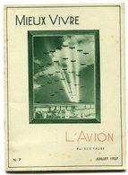 ELIE FAURE L'avion 1937 - Libros, Revistas, Cómics
