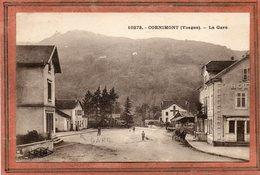 CPA - CORNIMONT (88) - Aspect Du Quartier De La Gare En 1930 - Cornimont