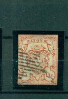 Schweiz, Wappen, Nr. 10 Gestempelt - 1843-1852 Federal & Cantonal Stamps