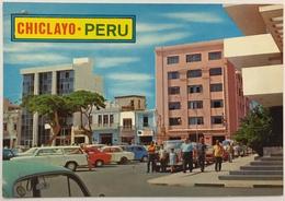 (774) Peru - Chiclayo - Main Square And Club  'Union' - Pérou