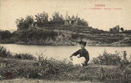 CPA VIETNAM Tonkin HAIPHONG - Paysage Tonkinois (61077) - Vietnam