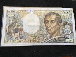 200 Francs 1989 U065 - 1962-1997 ''Francs''