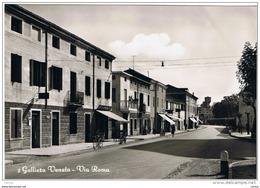 GALLIERA  VENETA:  VIA  ROMA  -  FOTO  -  FG - Padova