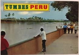 (775) Peru - Tumbes - Teniente Vasquez Bridge - Pérou