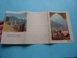 RAVELLO ( Turismo Salerno / Saiga Gia B. & G. Genova ) Anno 19?? ( Zie Foto's Detail ) Folder - Dépliants Touristiques