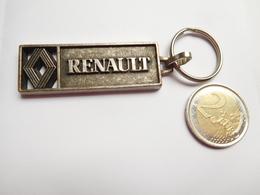 Beau Porte Clés , Auto Renault , SAS Saint Denis Les Sens , Yonne - Key-rings