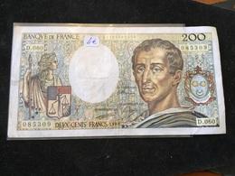 200 Francs 1988 D060 - 1962-1997 ''Francs''