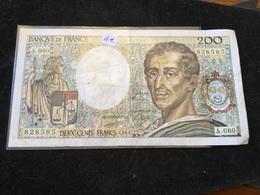 200 Francs 1988 A060 - 1962-1997 ''Francs''
