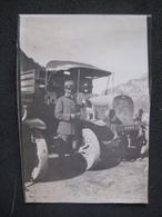 PICCOLA FOTO MILITARE MACCHINE MILITAIRE VOITURE SOLDAT CAR - Guerre, Militaire