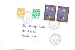 675  Noel    Beaux Cachets De PONERIHOUEN    1996 (CLASORANG) - Covers & Documents