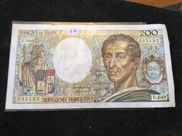 200 Francs 1987 U049 - 1962-1997 ''Francs''