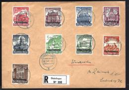RECOMMANDÉ EN PROVENANCE DU LUXEMBOURG - OCCUPATION - 1941 - - Besetzungen