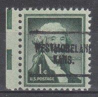 USA Precancel Vorausentwertung Preo, Locals Kansas, Westmoreland 704 - Vereinigte Staaten