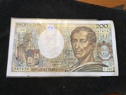200 Francs 1986 C041 - 1962-1997 ''Francs''
