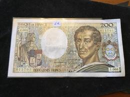 200 Francs 1989 J066 - 1962-1997 ''Francs''
