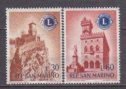 PGL BU0037 - SAINT MARIN SAN MARINO Yv N°499+501 ** ARCHITECTURE - Saint-Marin