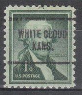 USA Precancel Vorausentwertung Preo, Locals Kansas, White Cloud 704 - Vereinigte Staaten